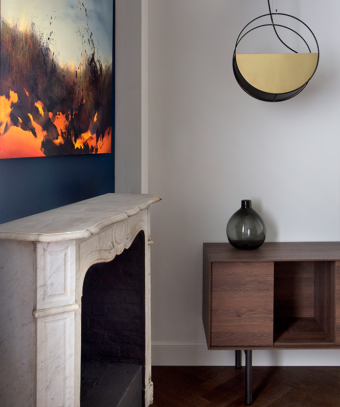 Residence Villa Anna - Suite 1 - Fireplace